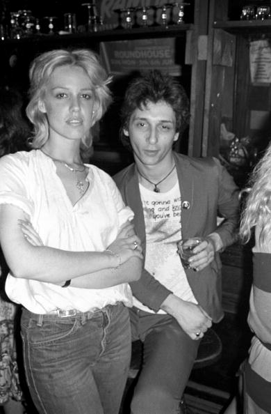 Photo of Cyrinda Foxe-TYLER and Johnny THUNDERS